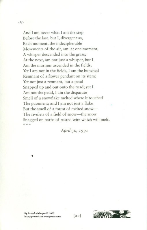 Page 20 - And I am never...