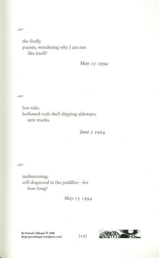 Page 29 - Three Haiku