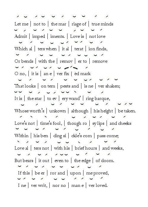 Shakespeare Sonnet Poem Ideas