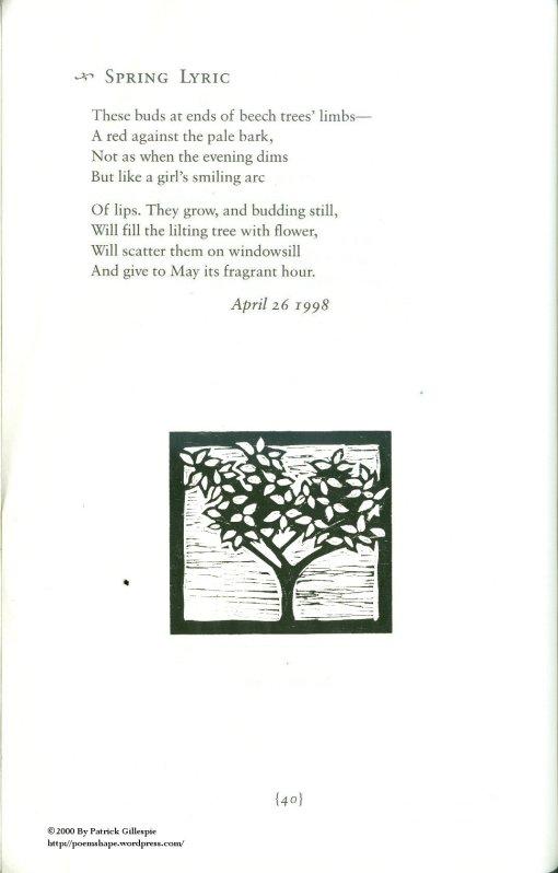 Page 40 Spring Lyric