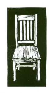 Blockprint Chair