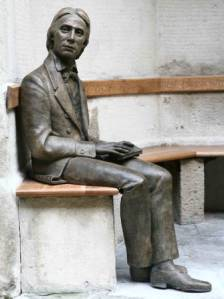 John Keats - Statue