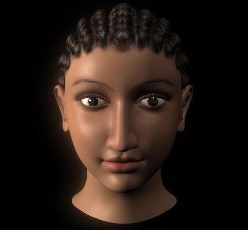 Cleopatra reconstruction