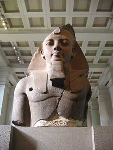 Younger Memnon Statue of Ramesses