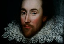 APTOPIX BRITAIN SHAKESPEARE PORTRAIT