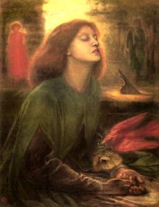 Rossetti's Beatabeatrix 1863