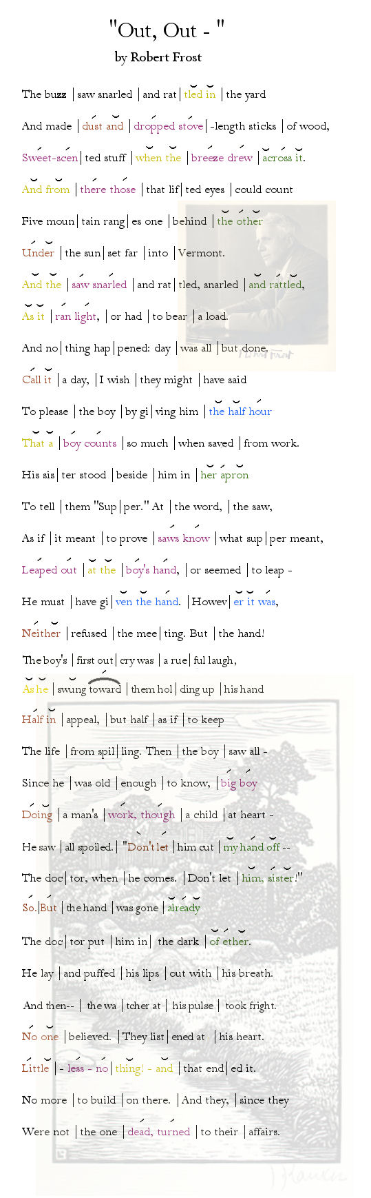 an analysis of the poetry in robert frosts poems Keywords: mowing poem analysis, mowing robert frost mowing is a lyric poem written by robert frost in the year 1913 like many other poets achieve that frost does.