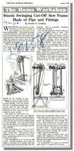 Swing Saw Advert