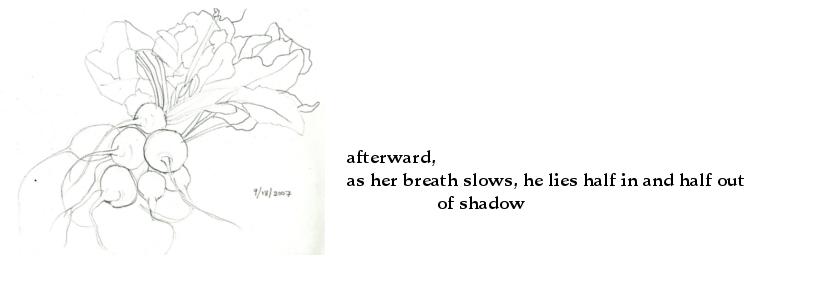 haiku - as her breath slows