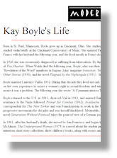 Kay Boyle's Life