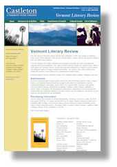Vermont Literary Review