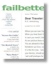 Dear Traveler
