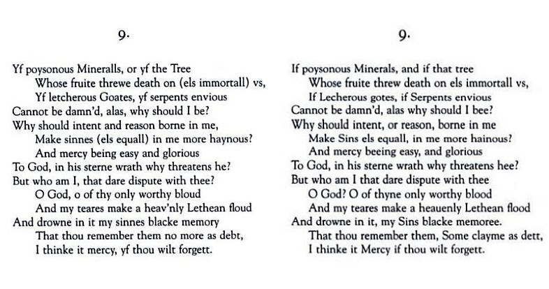 holy sonnet xiii john donne analysis