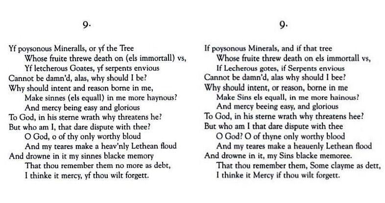 holy sonnet xiii john donne analysis