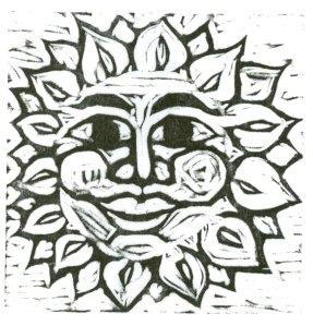 Blockprint - Sun