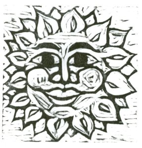 Blockprint - Sun