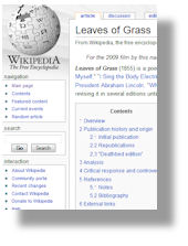 Wiki-Leaves of Grass
