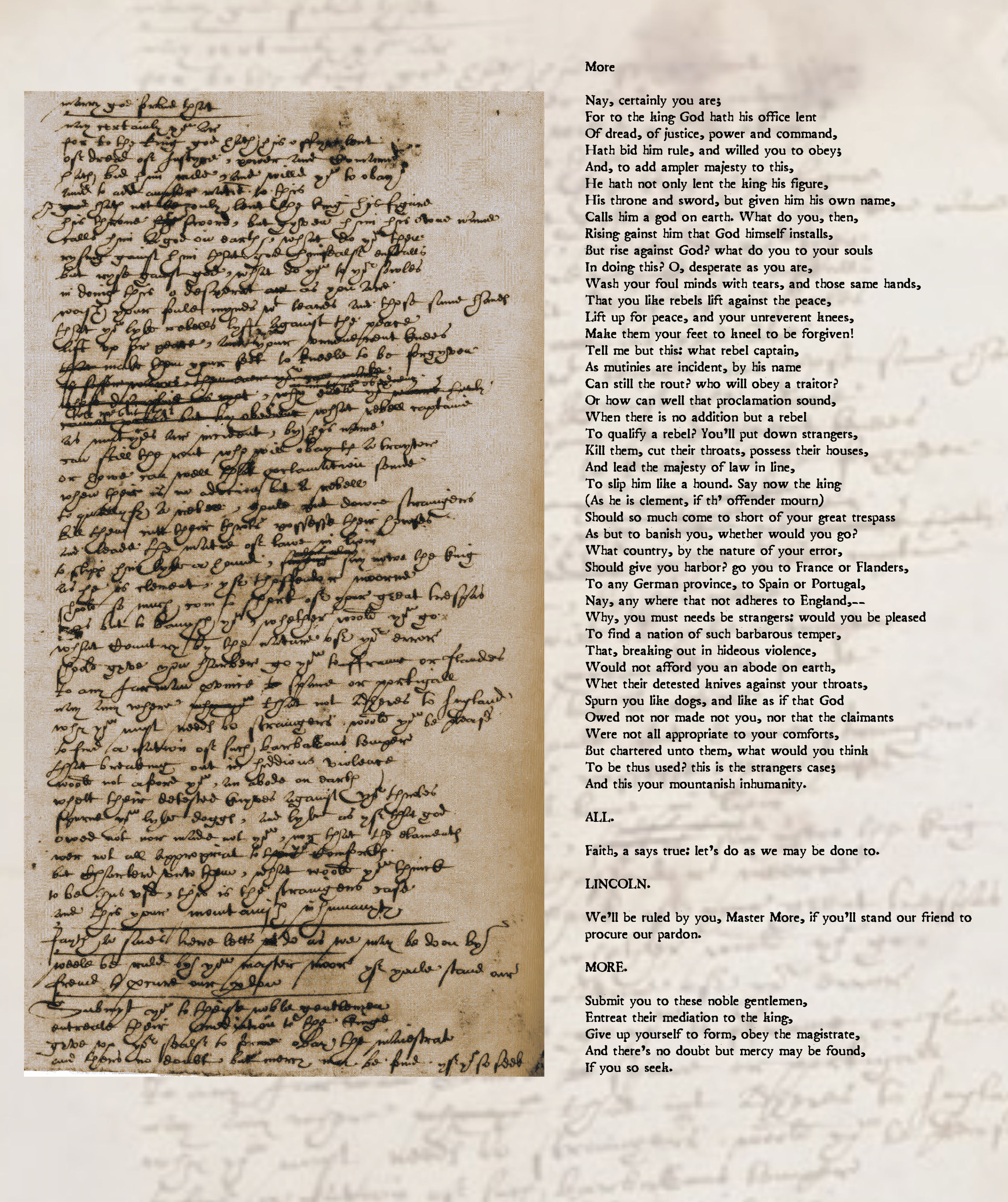 ben jonson s handwriting poemshape next