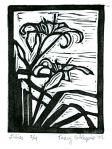 Day Lily (Block Print)