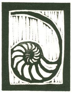 HeavyNautilus (Block Print)