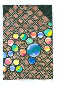 Marbles-2  (Block Print)
