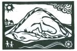 Sleeping Dragon (Block Print)