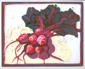 Turnips (Block Print)