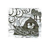 Winter's Wind (Block Print)