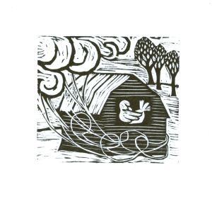 Winter's Wind (Block Print)