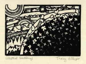 Celestial Seedlings (Block Print)