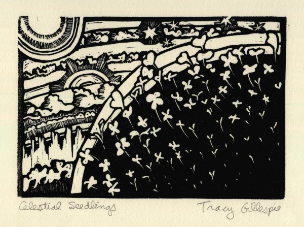 Celestial Seedlings (Block Print)