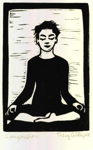 Compassion (Block Print)