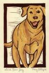 Dog (Block Print)