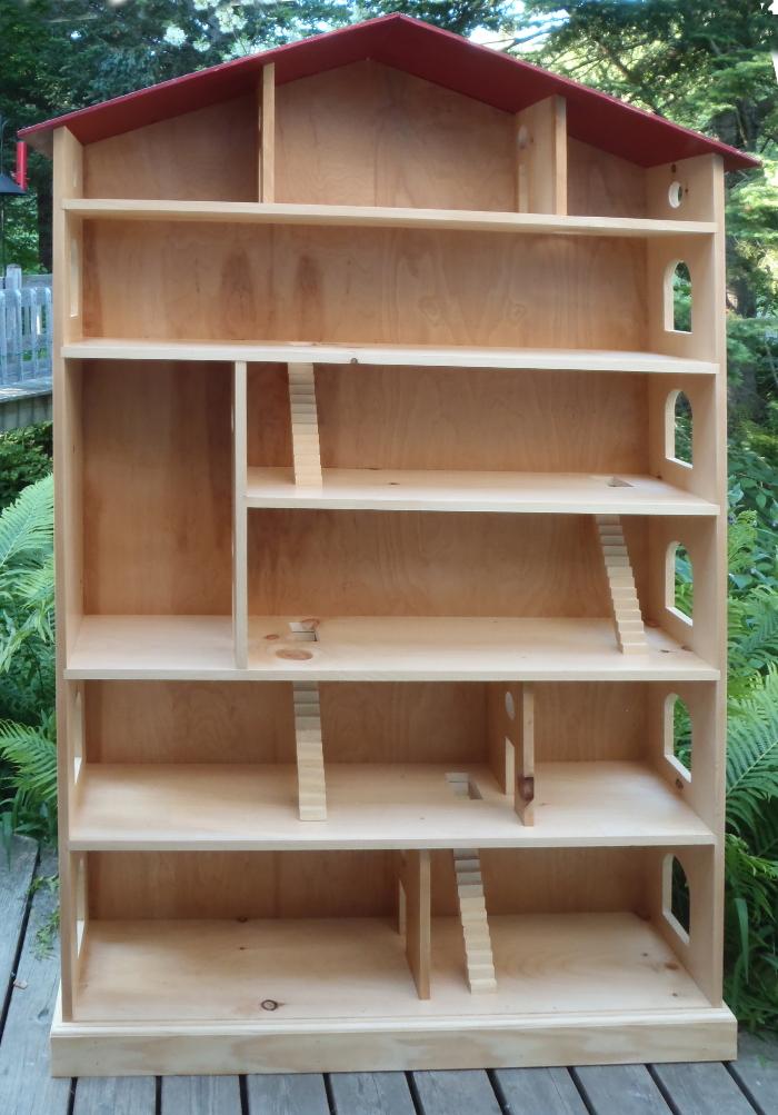Dollhouse Bookcase Plans Free Building PDF Plans
