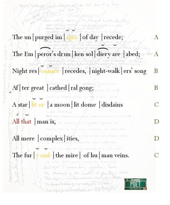 Iambic Pentameter « PoemShape