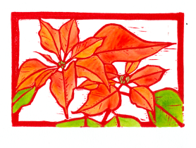 Poinsettia HD-Color-Red (Tracy Gillespie) 50 Percent