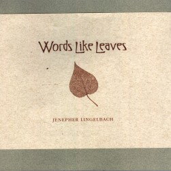 Words Like Leaves