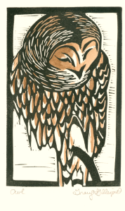 Owl Print-by Tracy Gillespie
