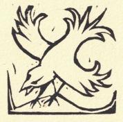 Bird Block Print
